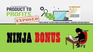Product To Profits Exposed Bonus